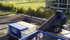 coal grading plant